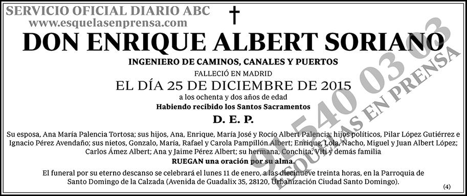 Enrique Albert Soriano
